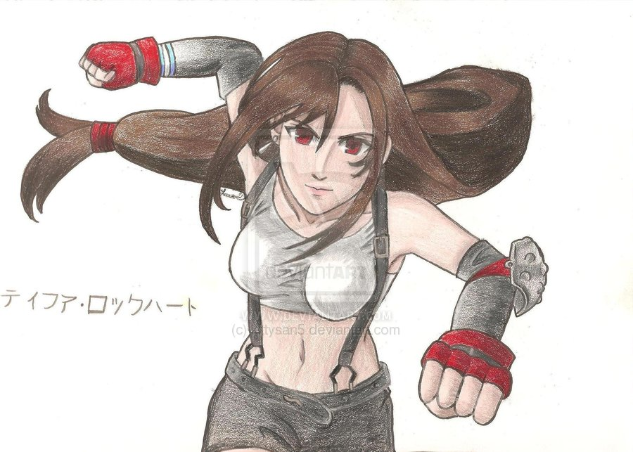 Tifa by kittysan5