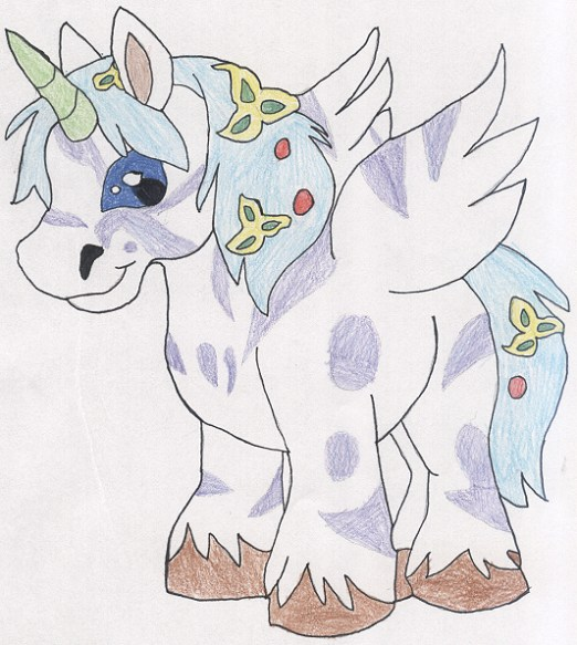 My entry in the Neopets Beauty contest! by kittyshootingstar