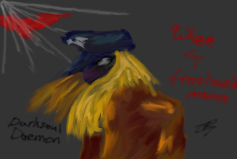 Darksoul Daemon by klatch_of_Tyria