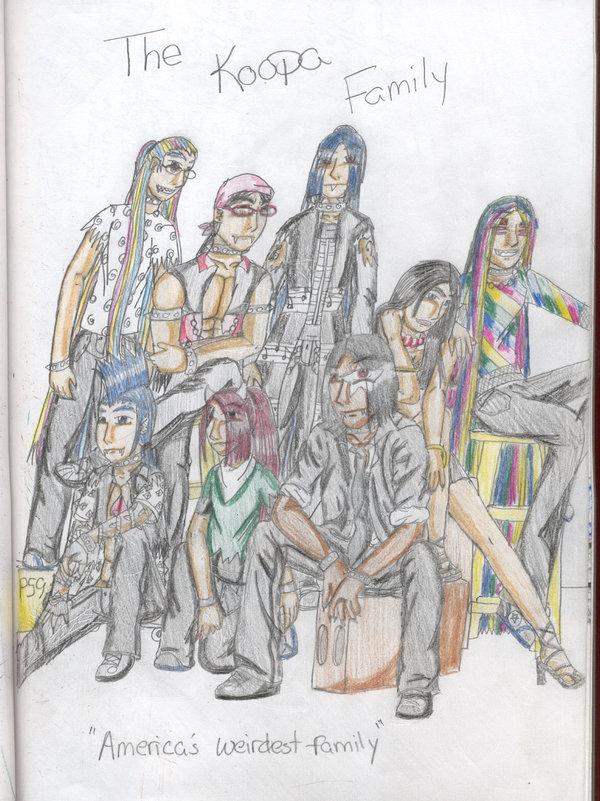 americas weidest family by klonoa52