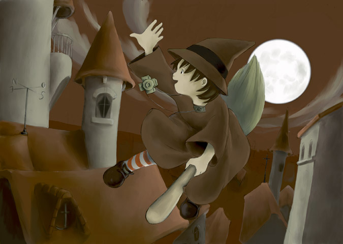 Little witch by kosal