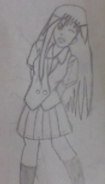 !!!School-girl Ninian!!! by kratosina
