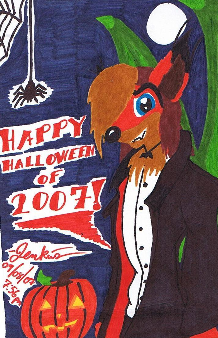 Happy Halloween of 2007 by kryptothedolphin