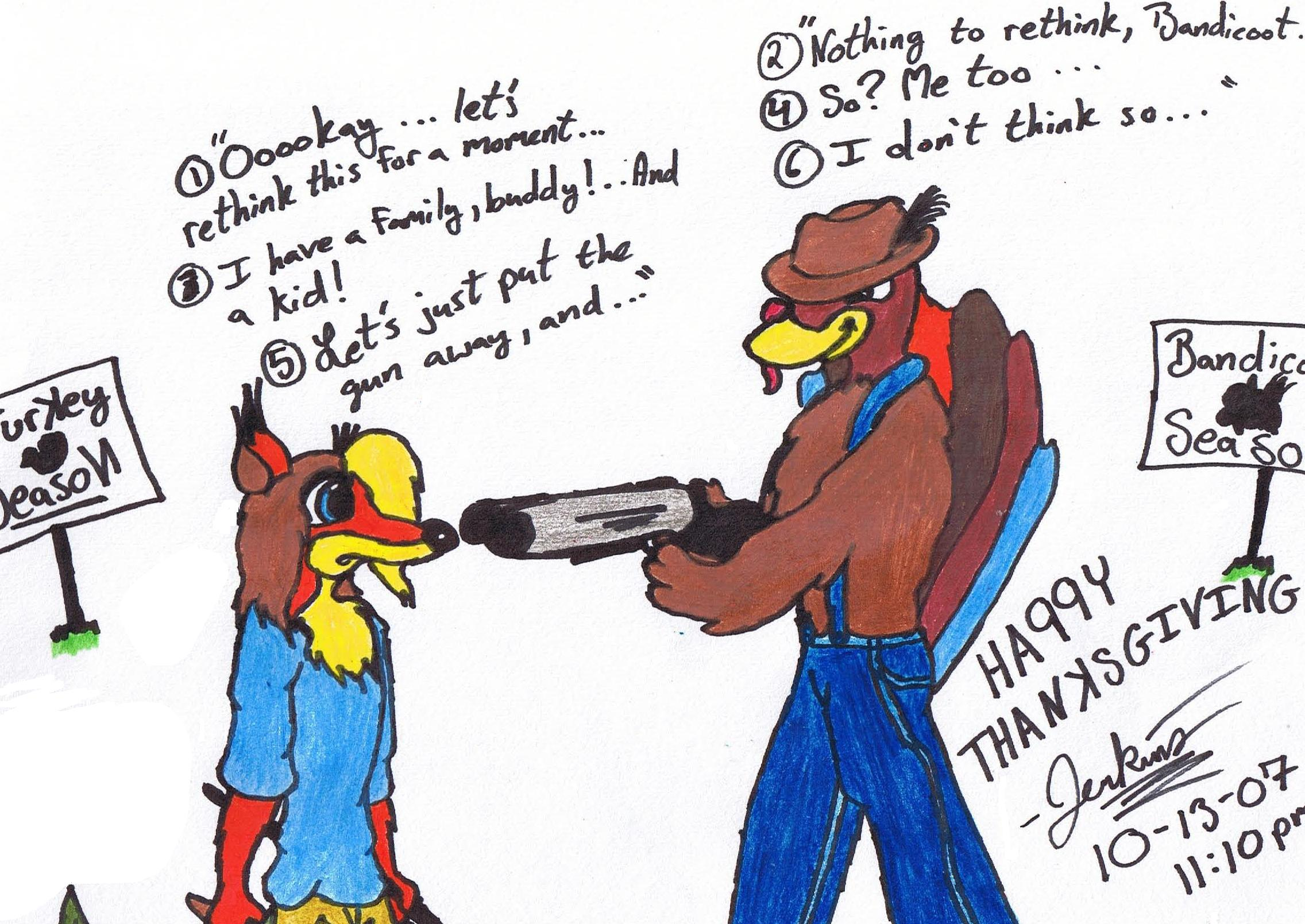 Thanksgiving 2007 by kryptothedolphin