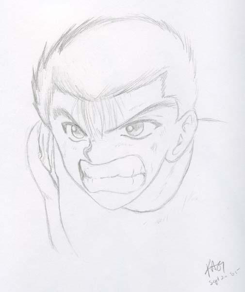 !!!You're dead!!! (sketch) by kurisu_yoi