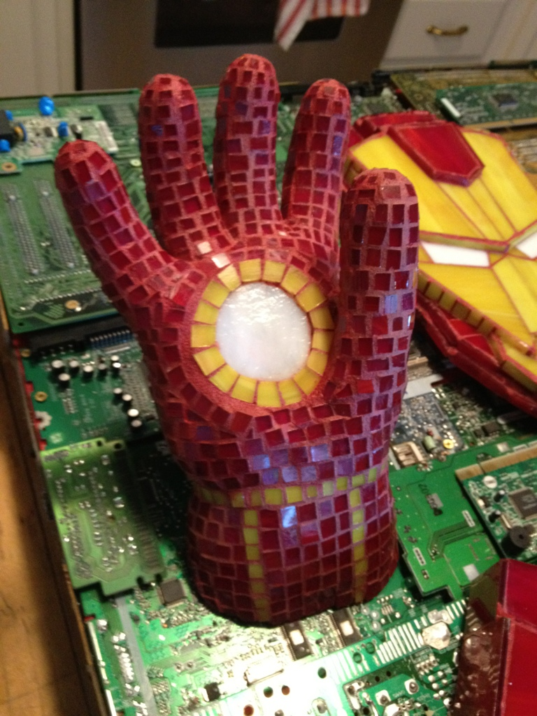 Iron Man Hand Repulsor by kymedicineman