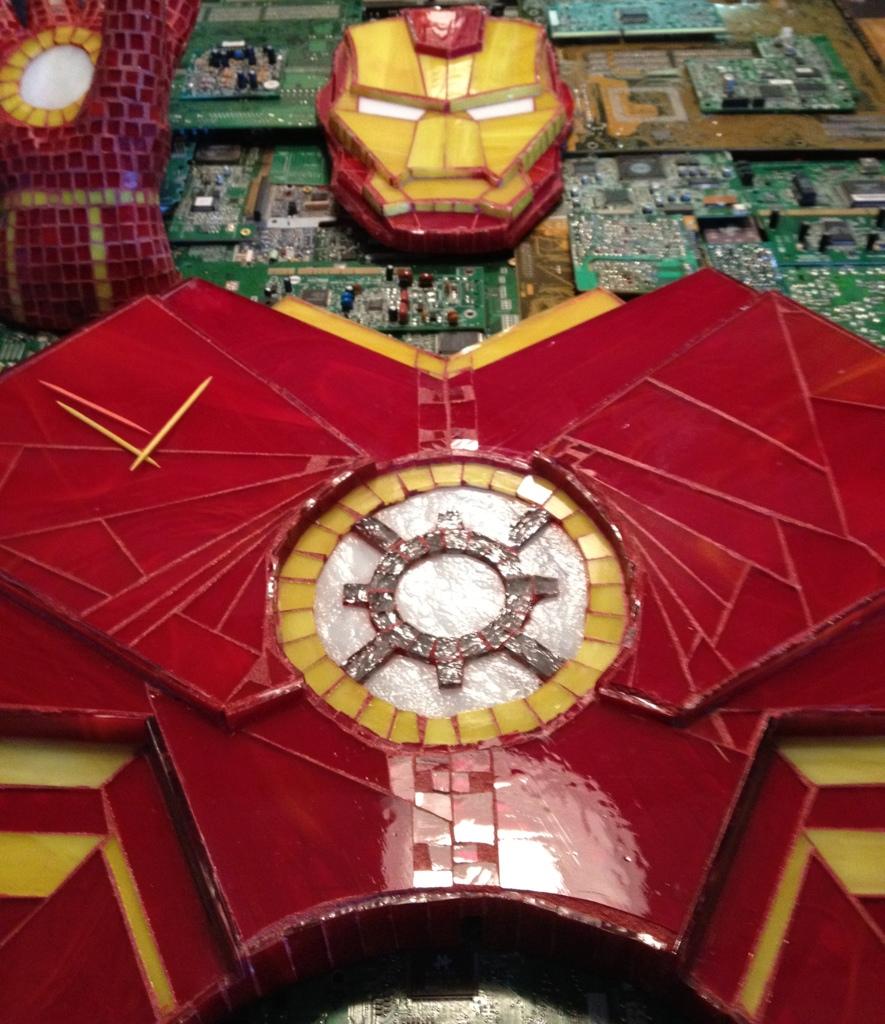 Iron Man Chest Piece by kymedicineman