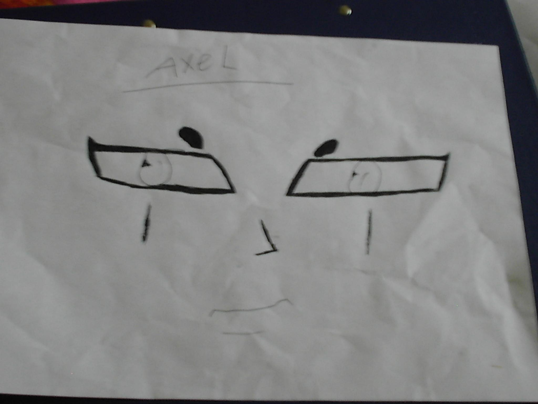 axel face by kyoheartsyuki