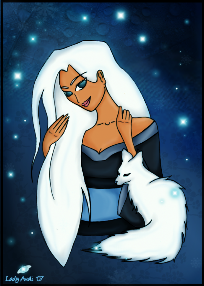 Artic Fox by LadyAvali620
