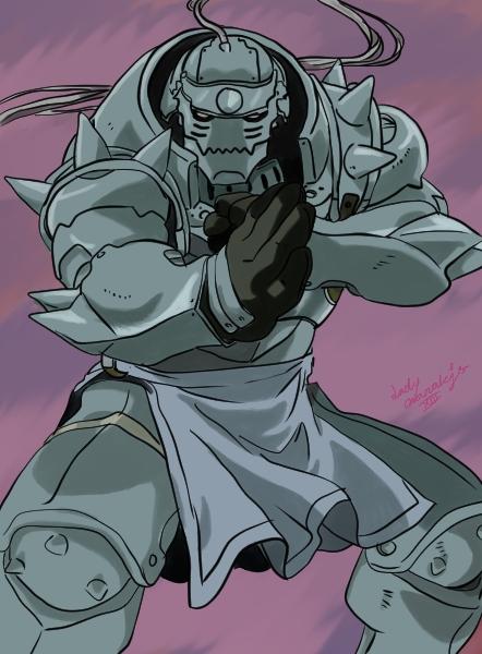 Alphonse Elric by LadyNanaki