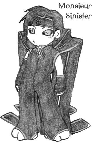 Monsieur Sinister by LadyNorthstar