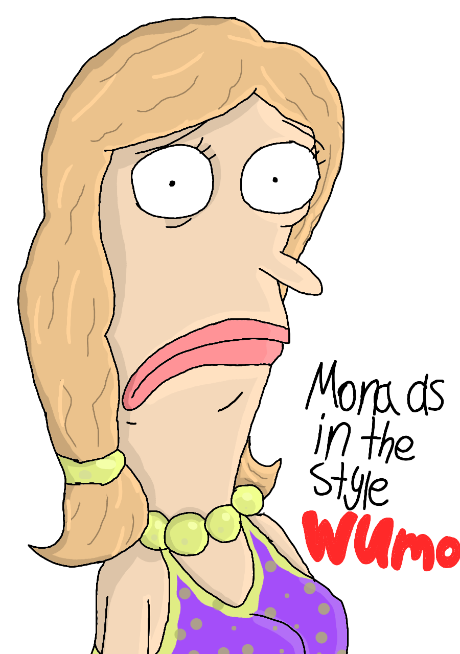 Mona as in Wumo (formerly Wulffmorgenthaler) by Lalondey