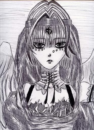 Butterfly Priestess by Lanfear