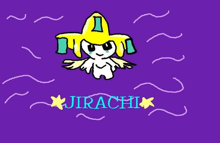 Jirachi! by Lara_Fox