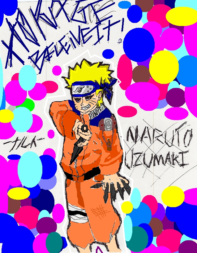 Naruto. IN COLOR by Largoith