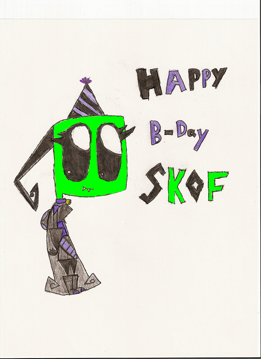 Happy B-Day SKOF! =D by LemurQueen12