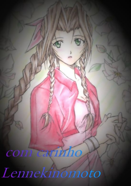 Aerith by Lennekinomoto