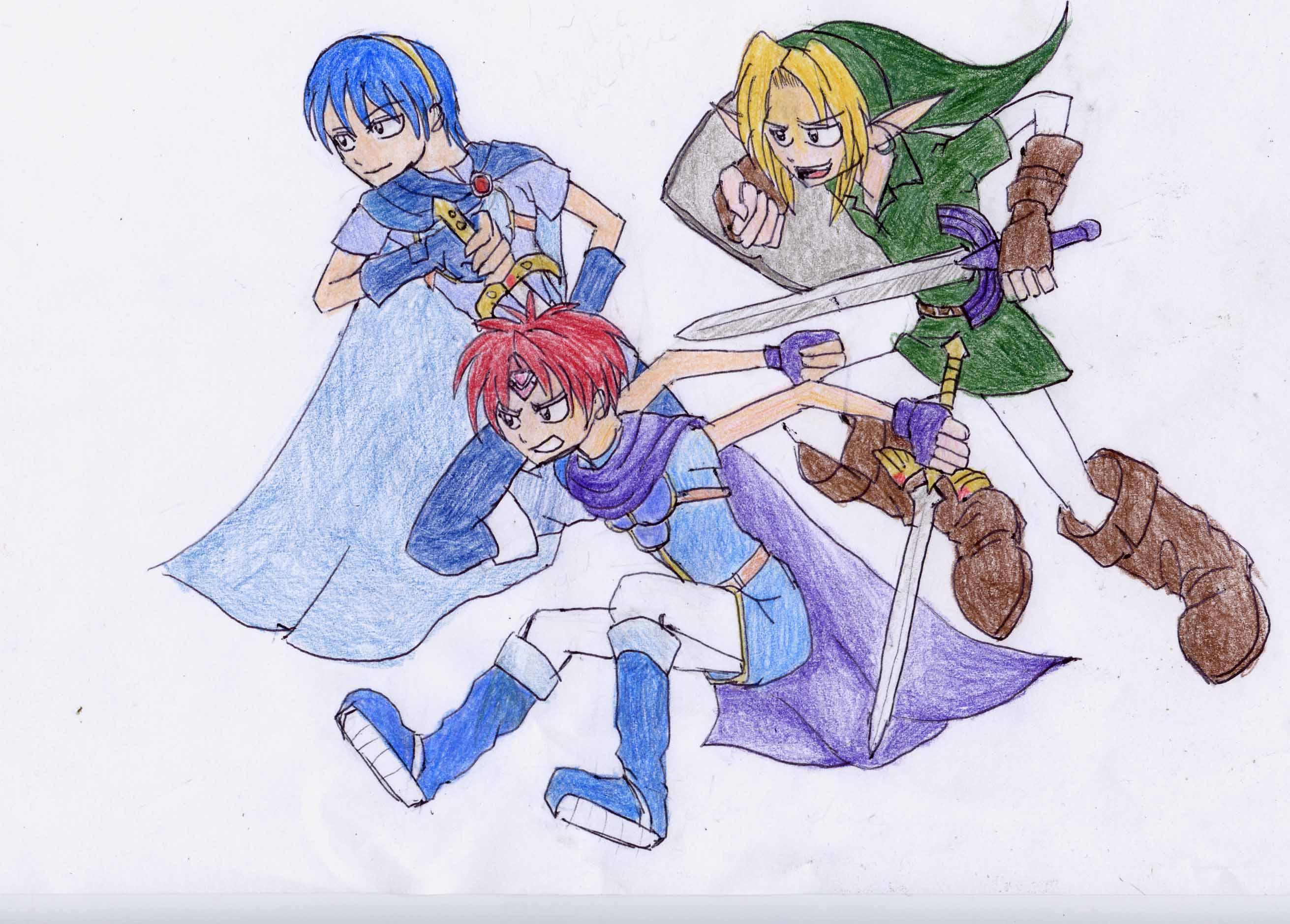 Three Swordsmen by Leonessa