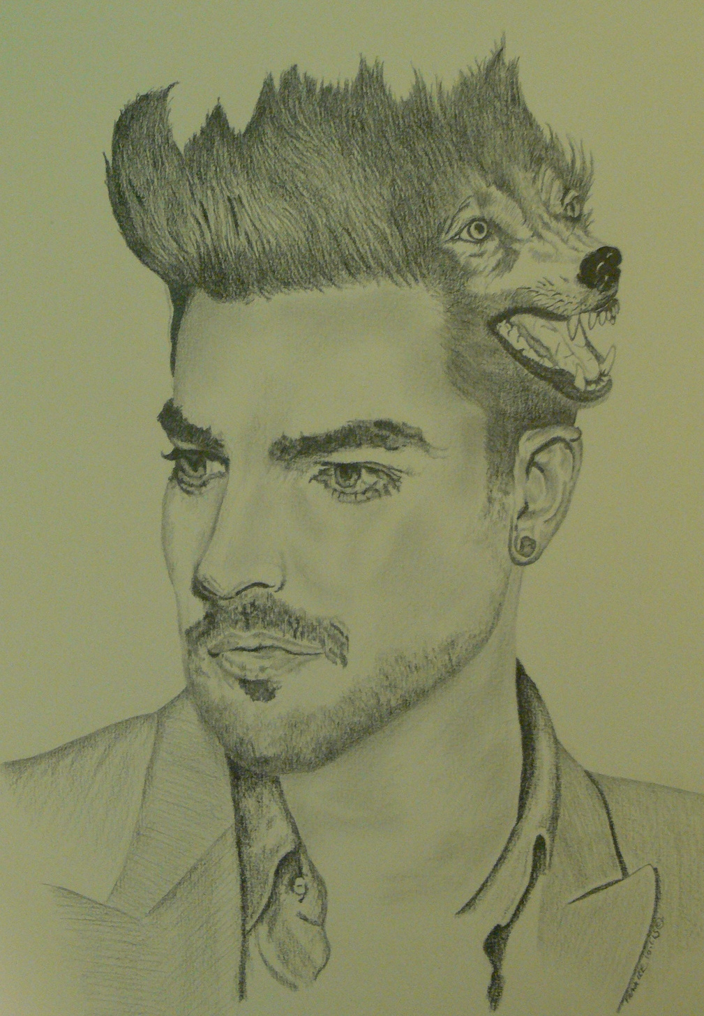 "Adam Lambert ""The Soul Within"" by LewieFranklin"