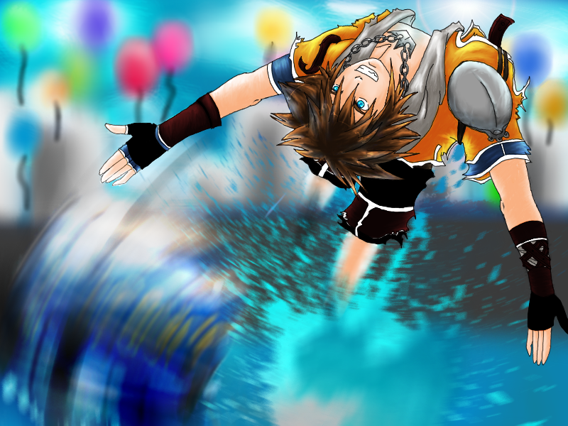 Sora's Going for the Goal!! by Liezy