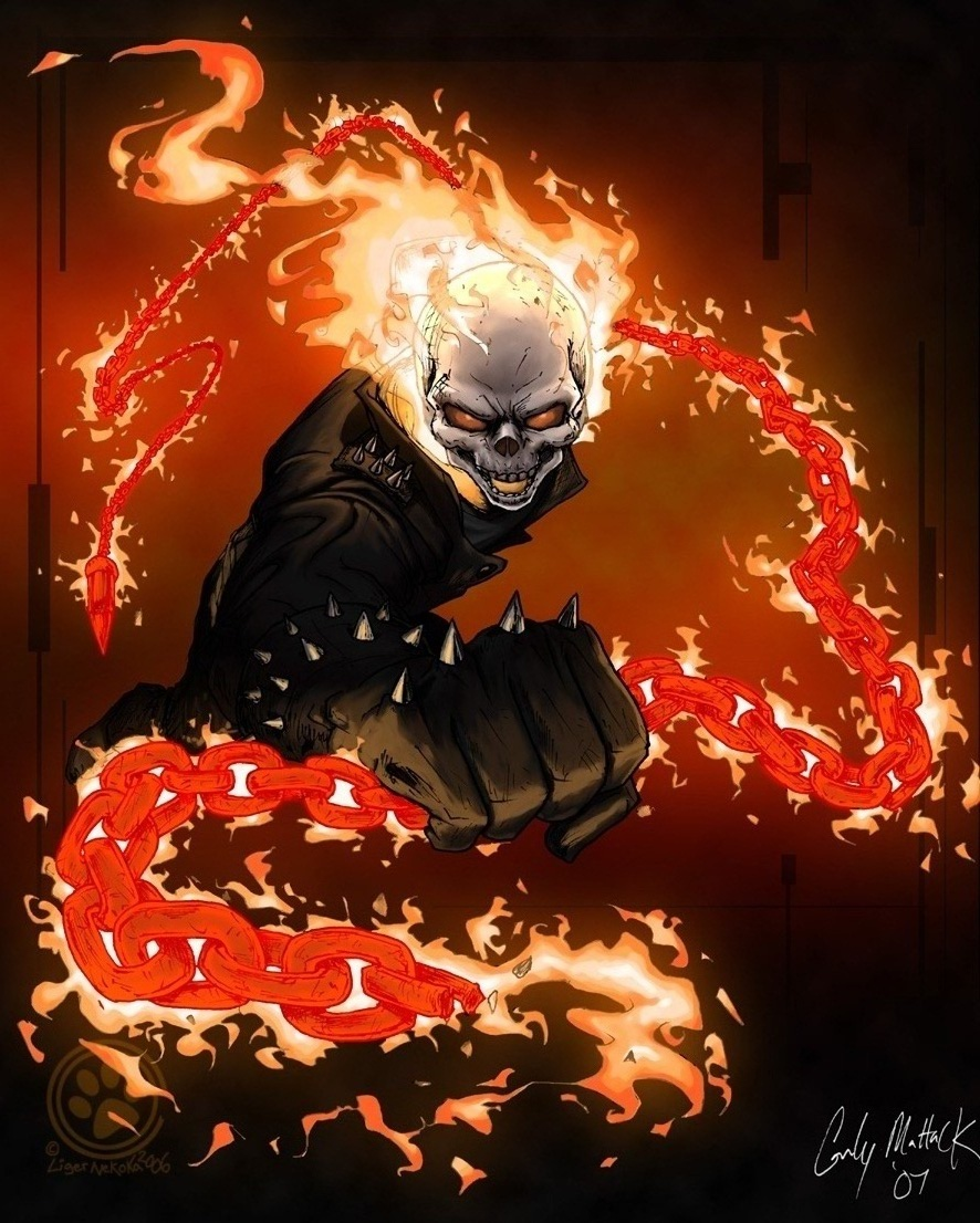 Ghost Rider by LigerNekoka