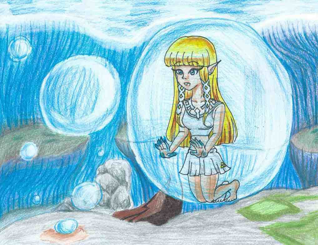 Lake Floria's Bubbles by LilacPhoenix