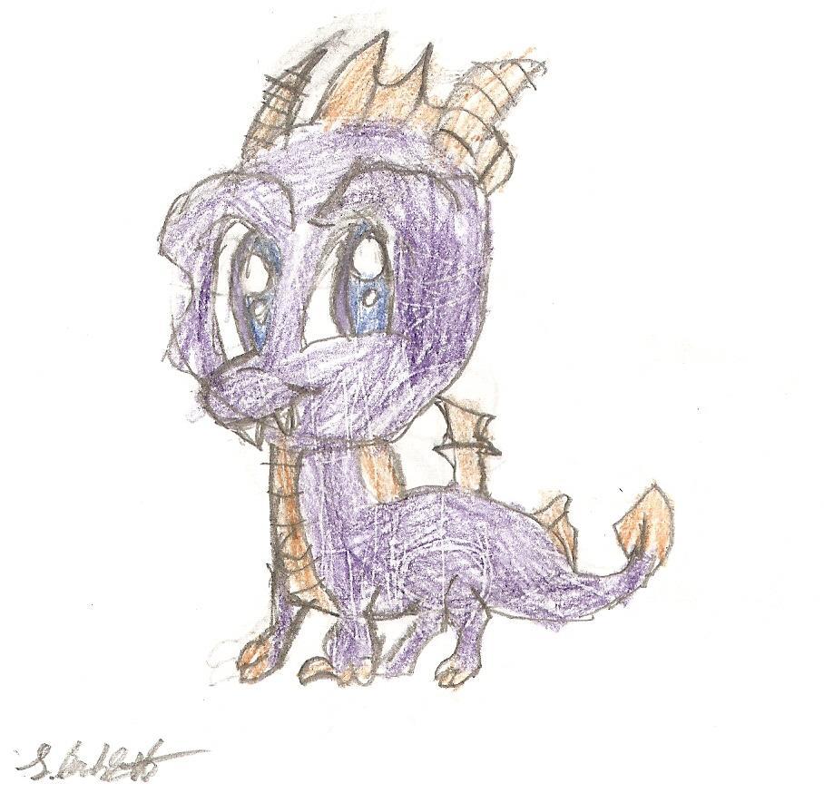 Spyro by Linzilu99