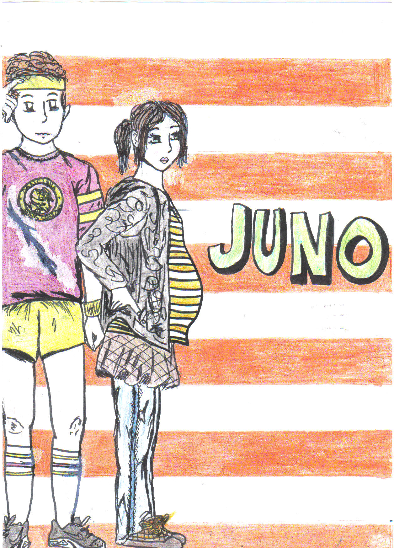 Juno DVD cover by LittleNicky
