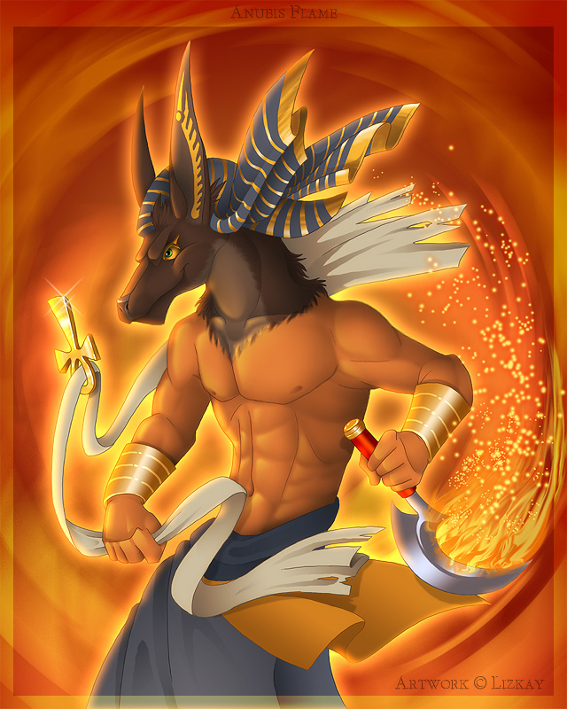 Anubis Flame by Lizkay