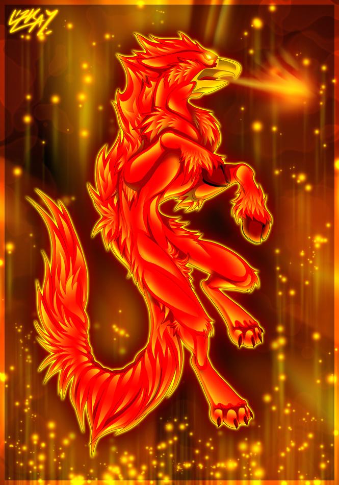 On Fire by Lizkay