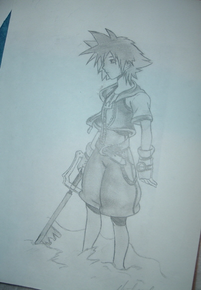 Kingdom Hearts - Sora by Lizzi
