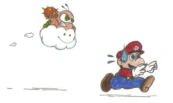 Run Mario! Run! by Lord_of_Elves