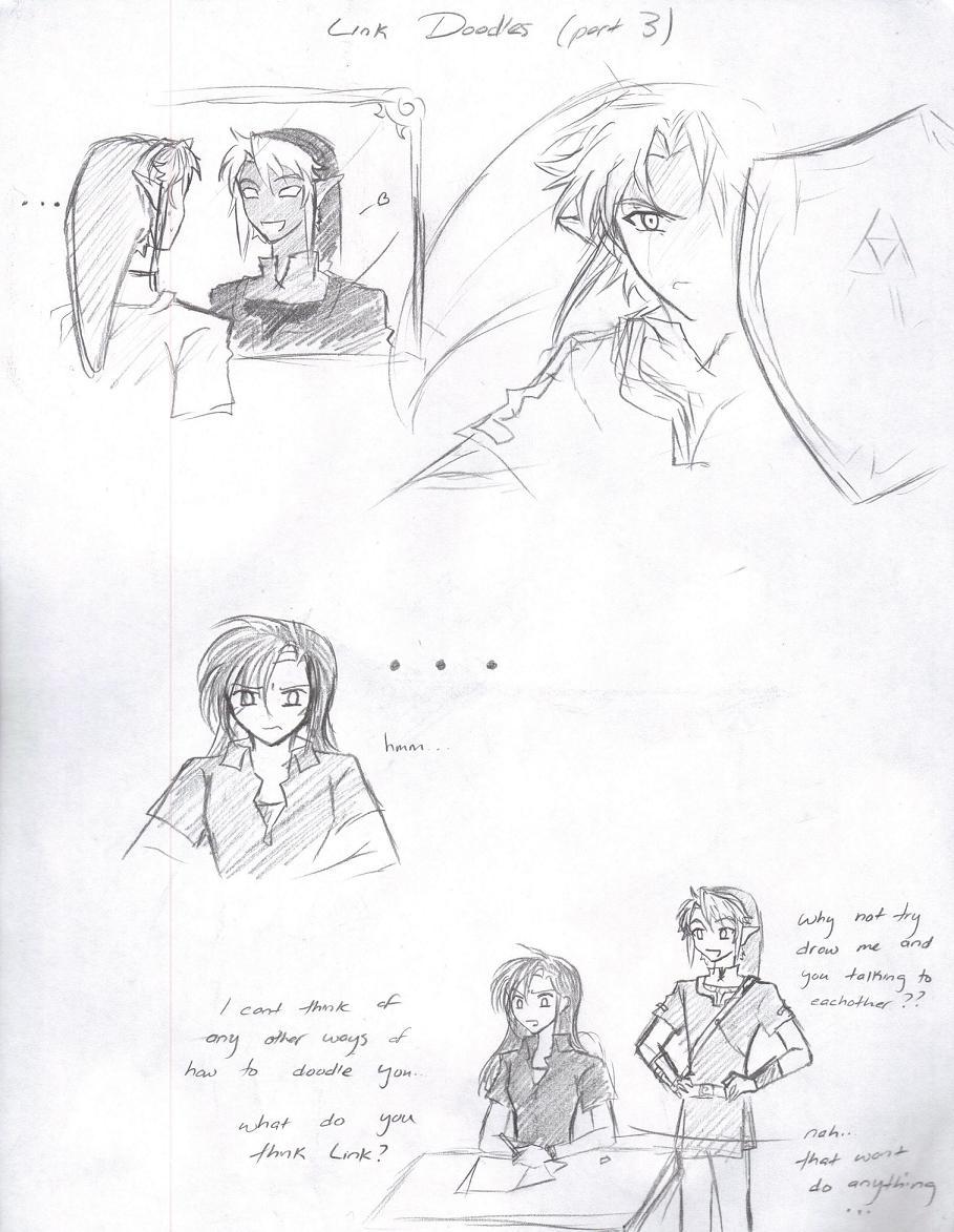 Link Doodles (Part 3) by LordessAnnara14