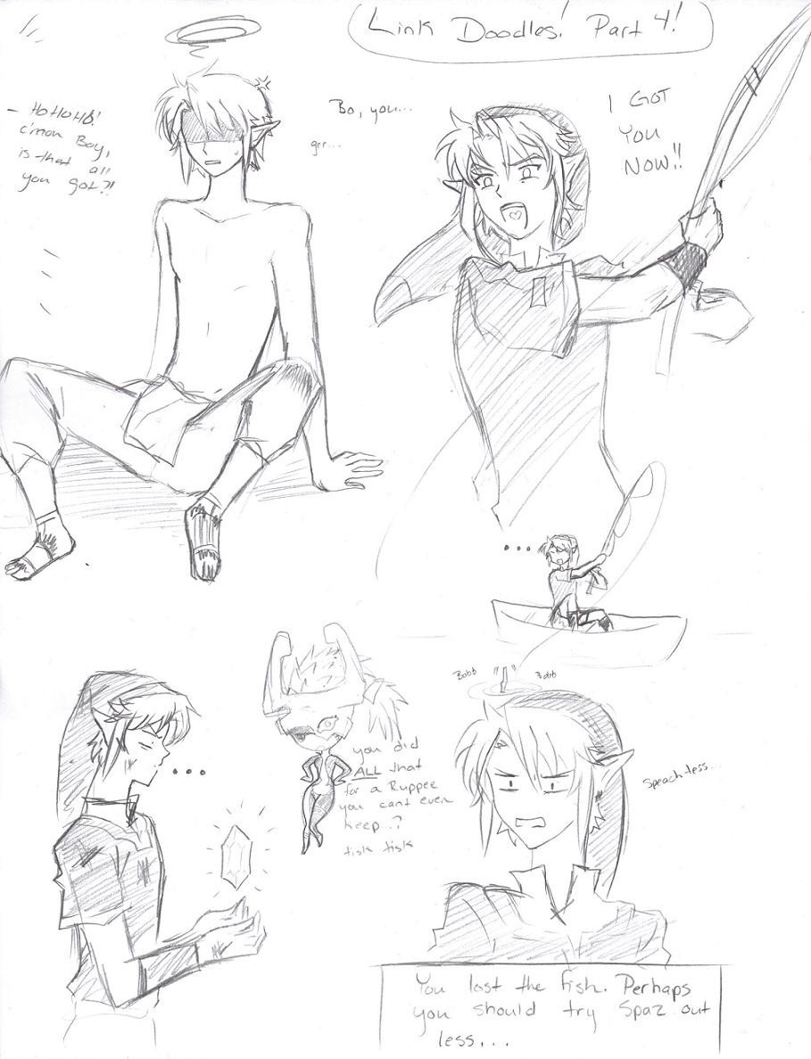 Link Doodles (Part 4) by LordessAnnara14