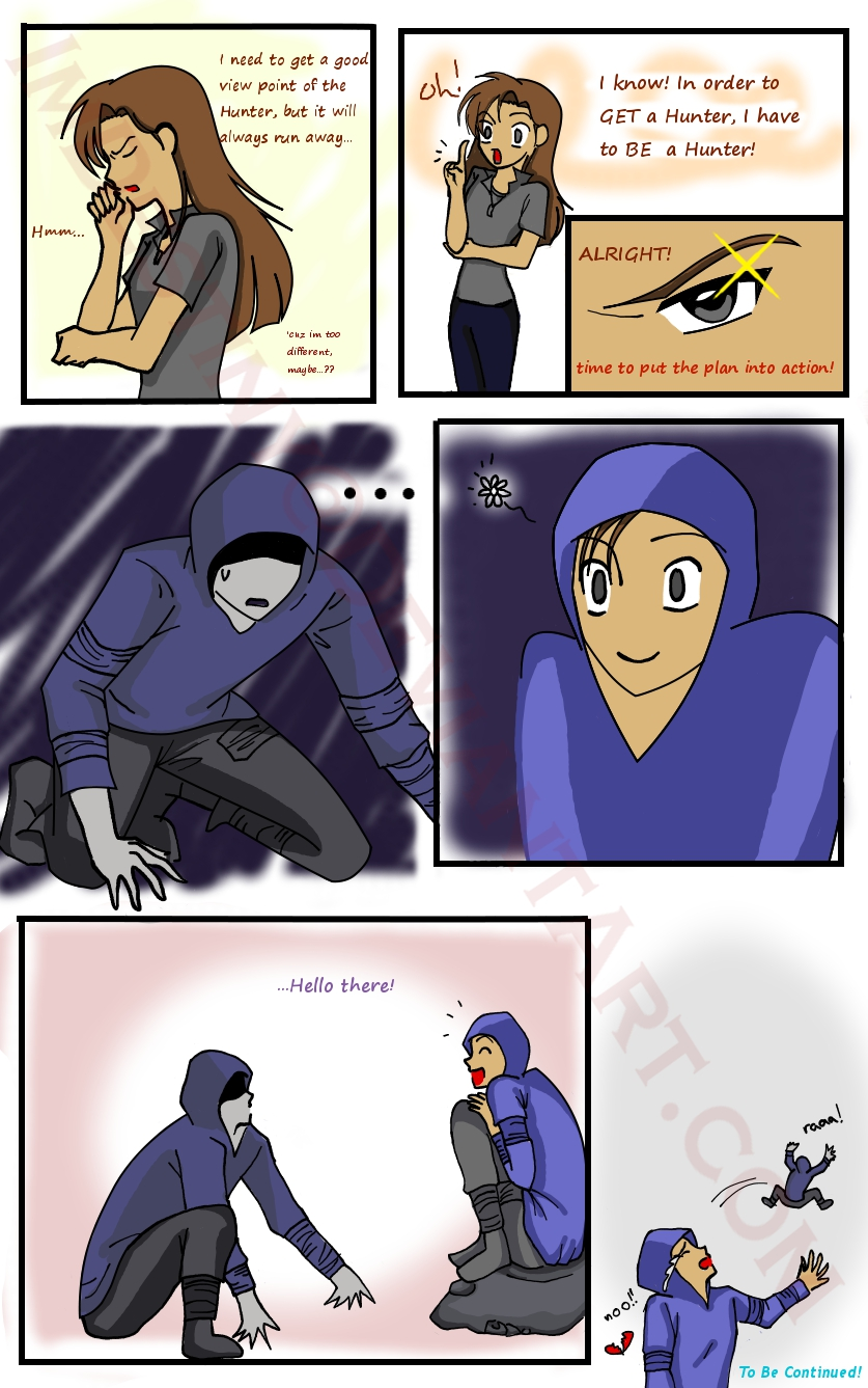 Hunter Comic 2: The Plan by LordessAnnara14