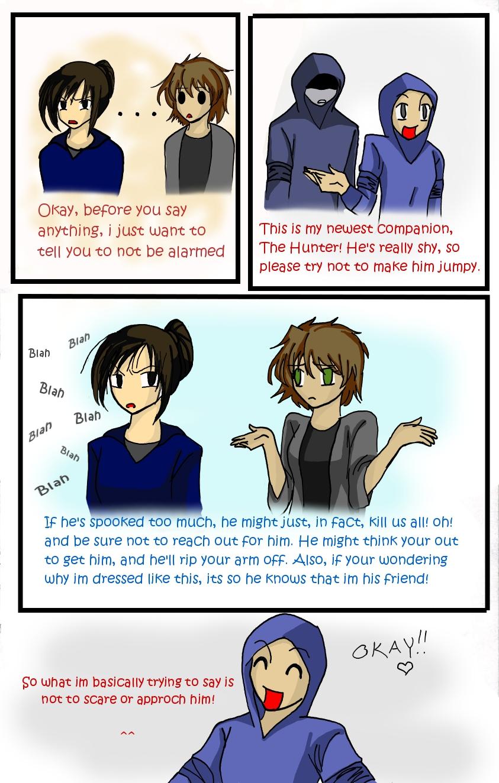 Hunter Comic 4: The Introduction by LordessAnnara14