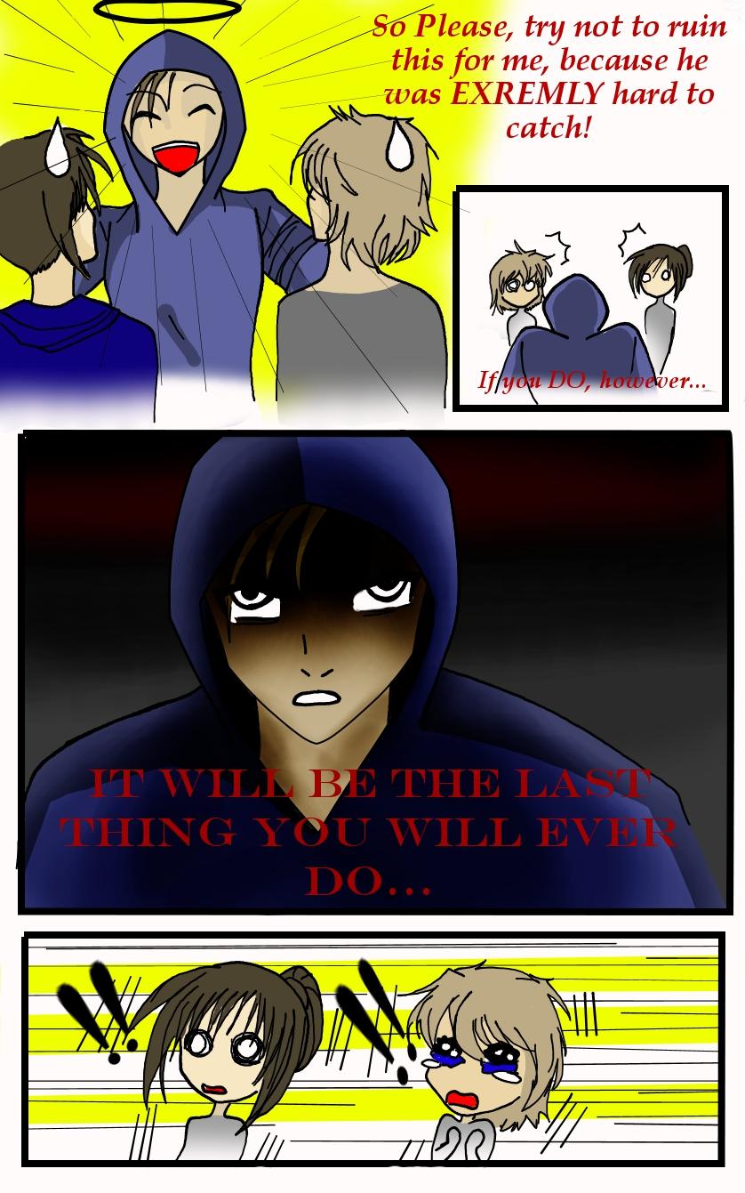 Hunter Comic 5: The Warning by LordessAnnara14