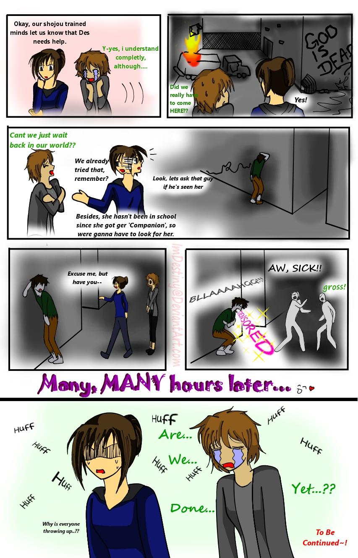 Hunter Comic 7: Their Special by LordessAnnara14