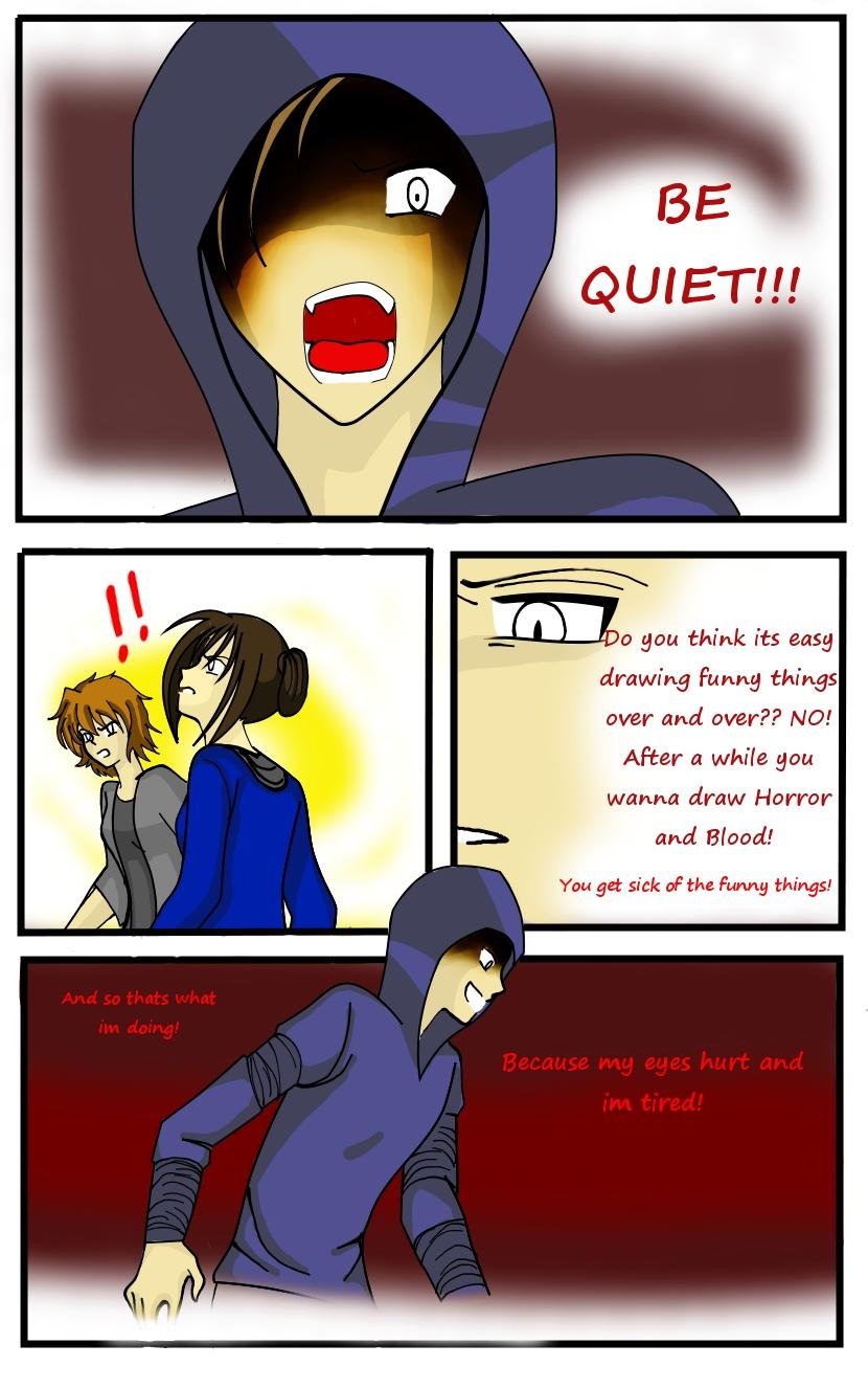 Hunter Comic 11: Oh, The Humanity! by LordessAnnara14