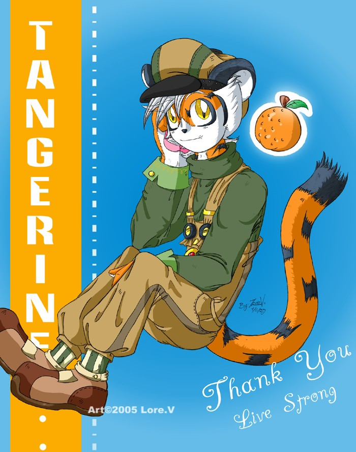 Tangerine by LoreV-of-the-Black-Hat