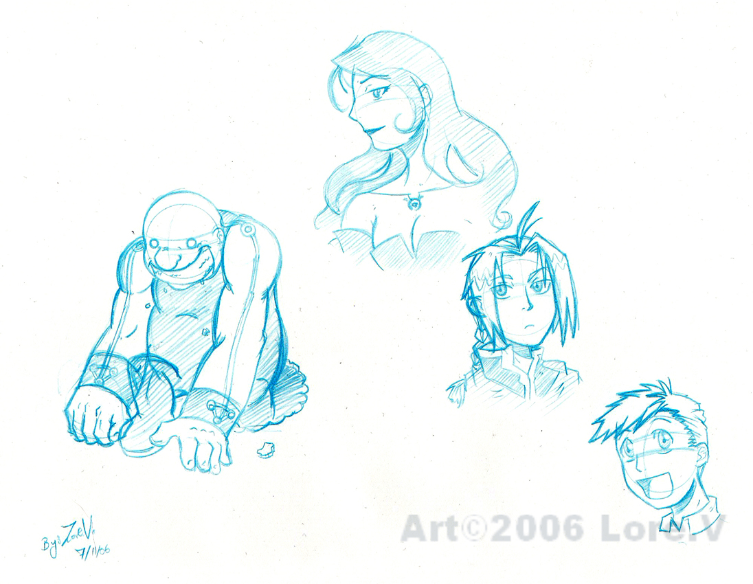 FMA sketch by LoreV-of-the-Black-Hat