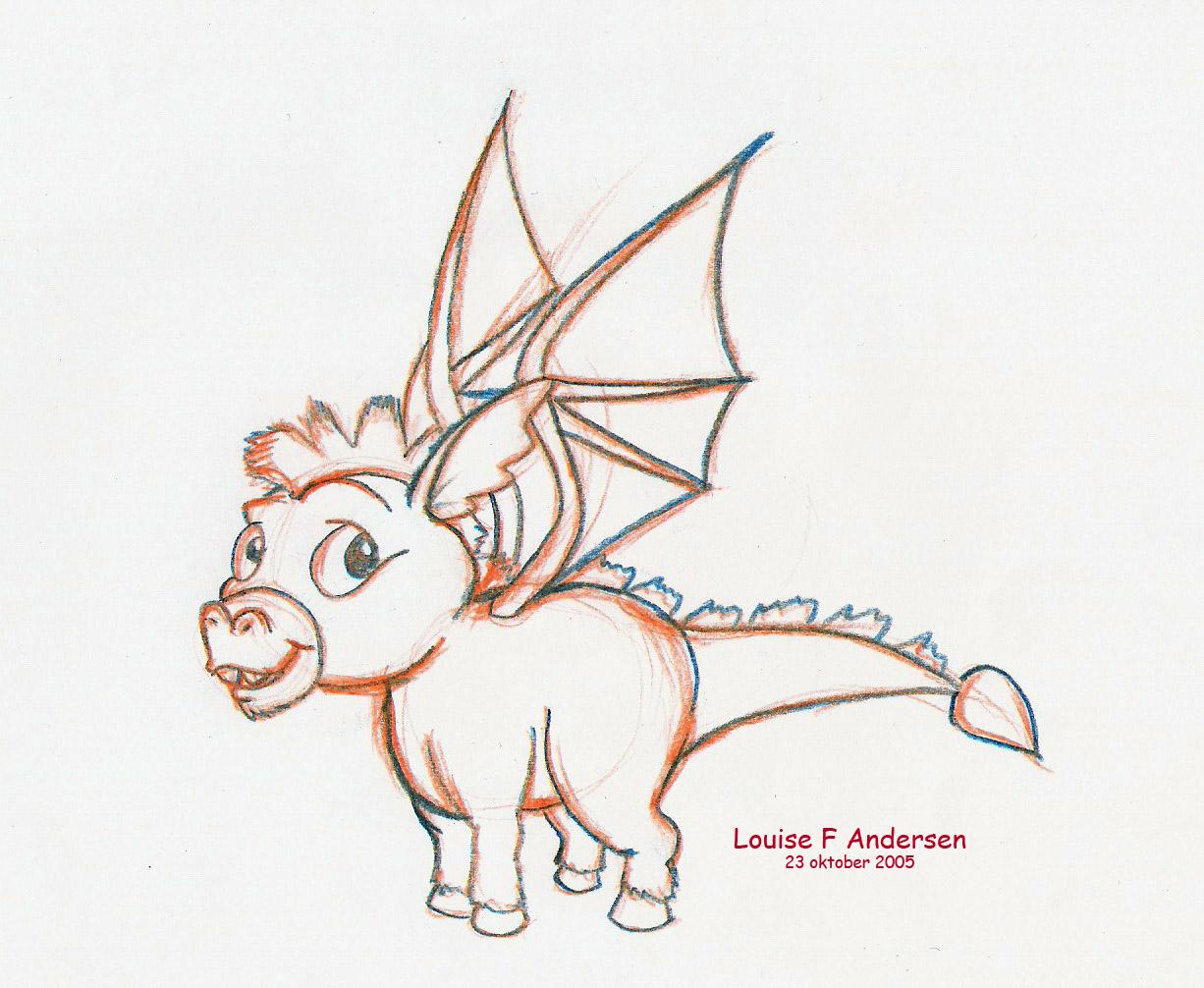 Dragon and Donkey Baby by Lu_raziel