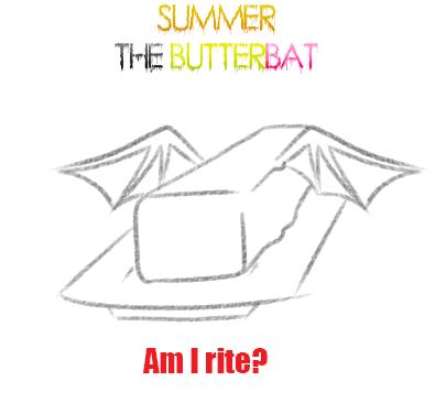 ButterBat by LucifersStardust