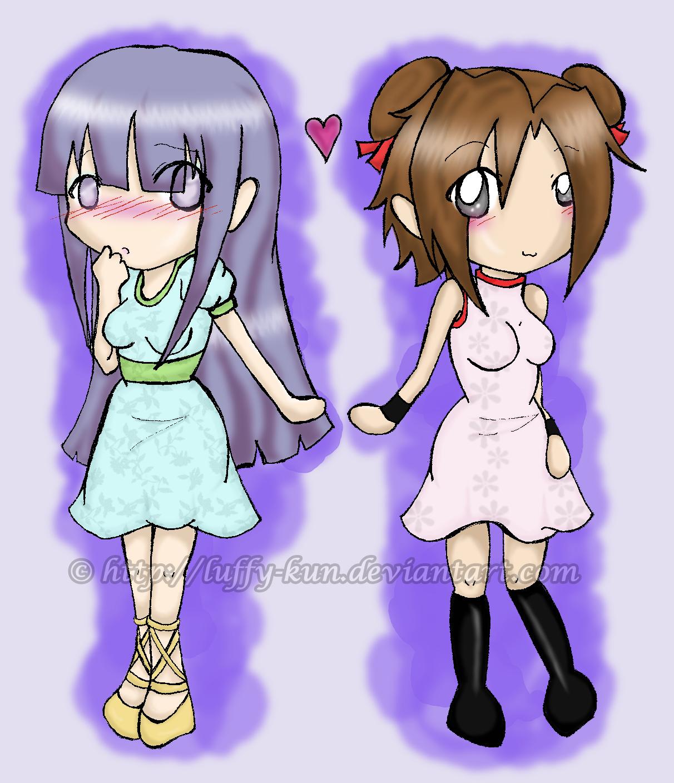 TenHina: Pretty Dresses by LuffySP