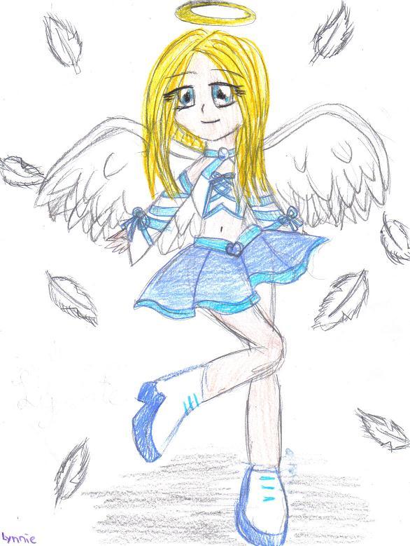 Angel by LynnieLemon