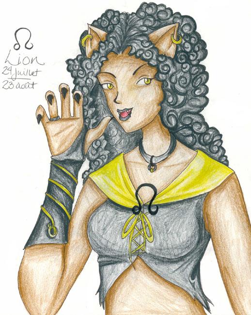 !Zodiac - Leo by Lyxy