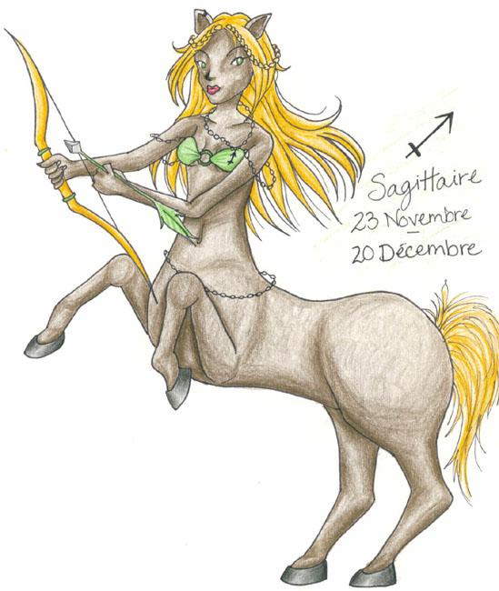 !Zodiac - Sagittarius by Lyxy