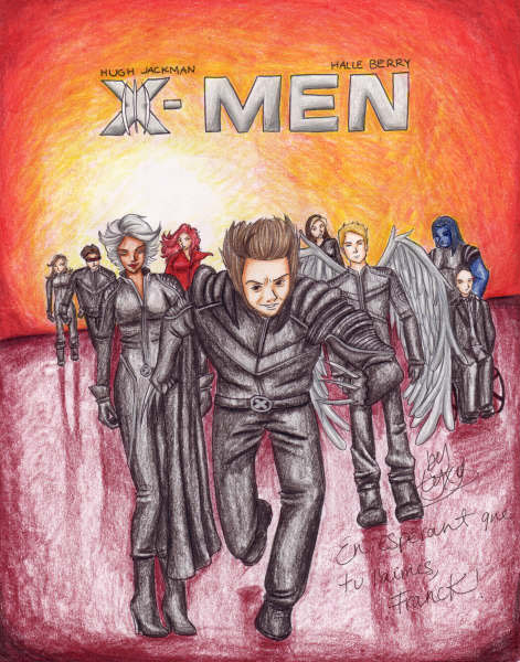 X-men III (gift for Franck) by Lyxy