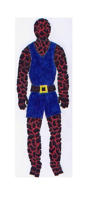 Lava man by l33tr34d3r