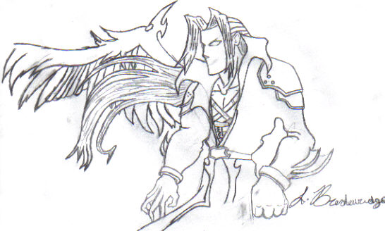 Sephiroth by lMeRCiLeSSl
